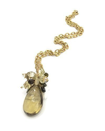 *Golden Topaz 'Celebration' Necklace