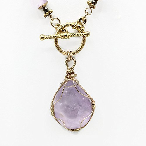 Lilac Amethyst 'Celebration' Pendant Necklace - Van Der Muffin's Jewels