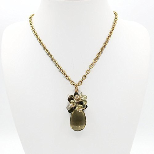 *Golden Topaz 'Celebration' Necklace - Van Der Muffin's Jewels