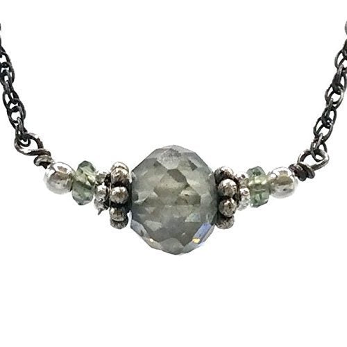 Fancy Green Diamond Necklace