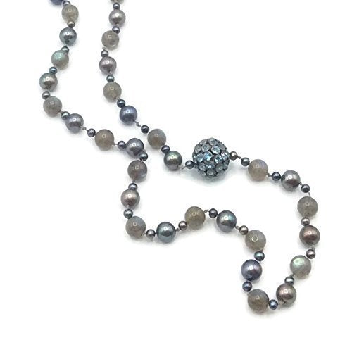 Bohemian Blue Topaz Layering Necklace