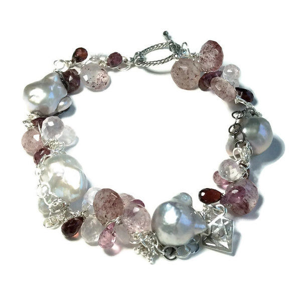 Baroque Pearl Bracelet - Van Der Muffin's Jewels