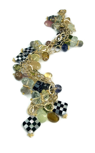 Clustered Tourmaline Bracelet - Van Der Muffin's Jewels - 3