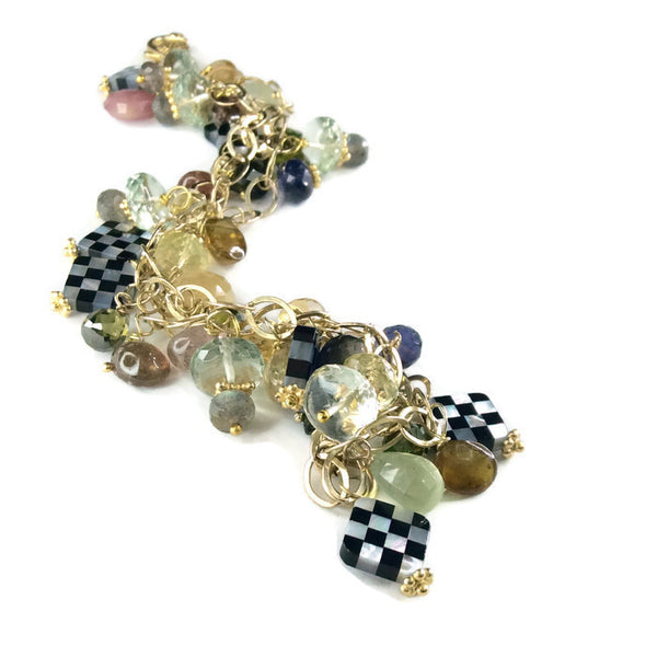 Clustered Tourmaline Bracelet - Van Der Muffin's Jewels - 5