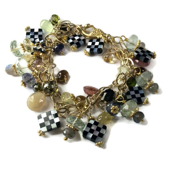 Clustered Tourmaline Bracelet - Van Der Muffin's Jewels - 2