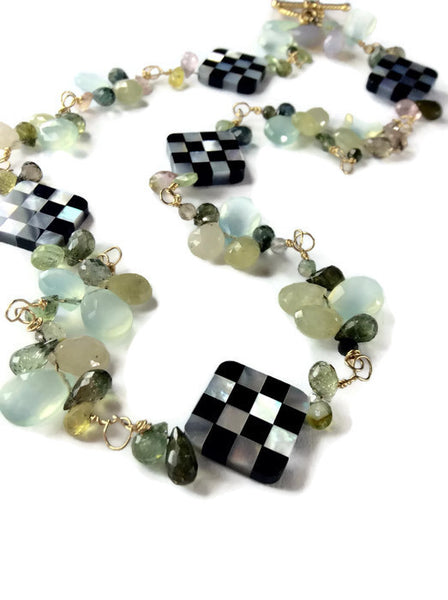 Mackenzie Childs Inspired Necklace