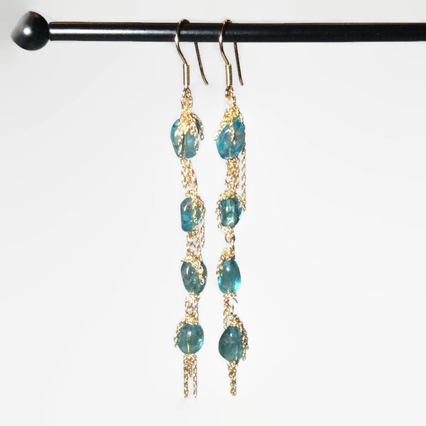 Apetite Dangle Earrings - Van Der Muffin's Jewels