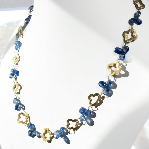 Royal Clover Necklace: SOLD - Van Der Muffin's Jewels - 5