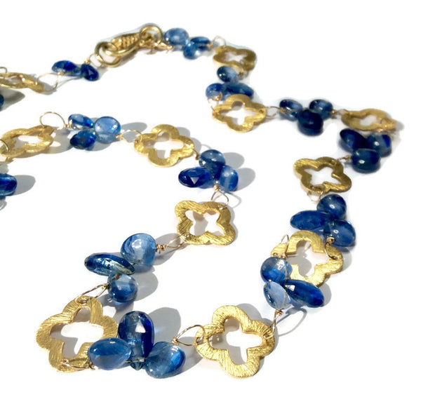 Royal Clover Necklace: SOLD - Van Der Muffin's Jewels - 1