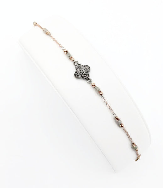 Diamond Clover Bracelet - Van Der Muffin's Jewels - 6