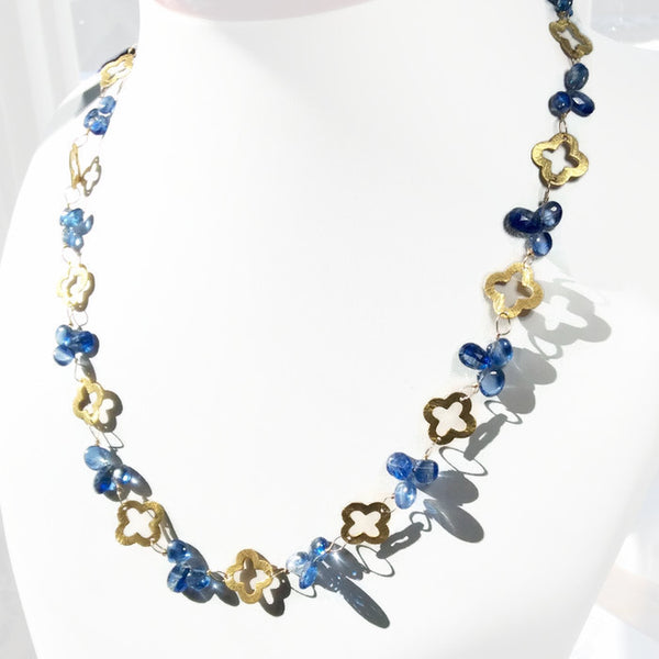 Royal Clover Necklace: SOLD - Van Der Muffin's Jewels - 2