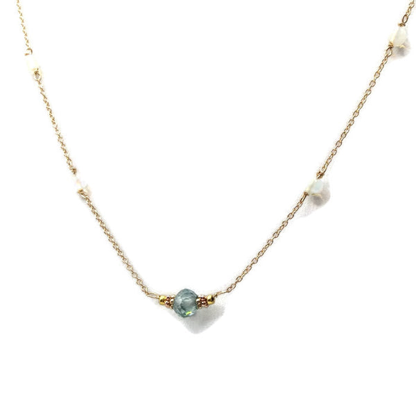 Diamond Station Necklace - Van Der Muffin's Jewels - 8