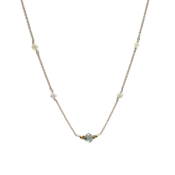 Diamond Station Necklace - Van Der Muffin's Jewels - 6
