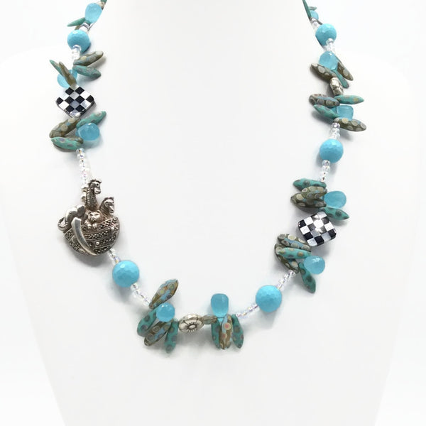 Whimsical Noah's Ark Necklace - Van Der Muffin's Jewels - 5