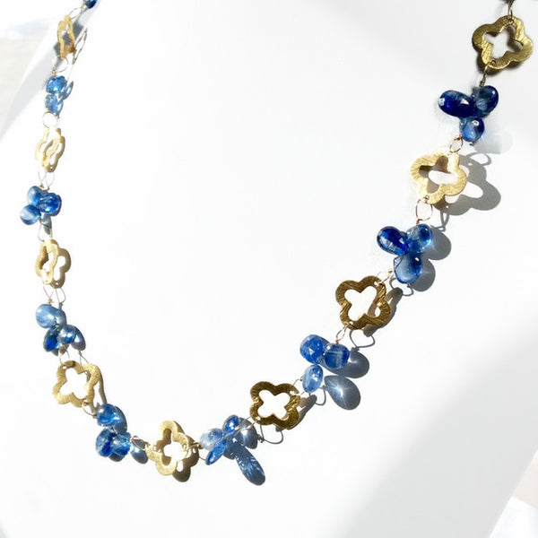 Royal Clover Necklace: SOLD - Van Der Muffin's Jewels - 3
