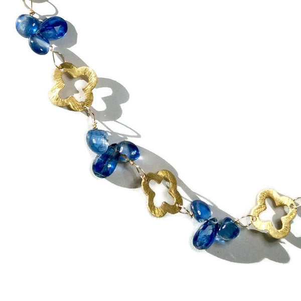 Royal Clover Necklace - Van Der Muffin's Jewels