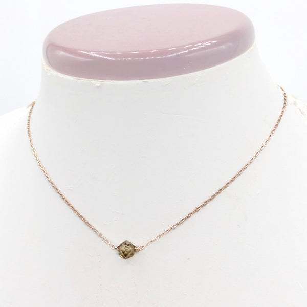 2.3 Ct. Diamond Choker ~ 14k Rose Gold