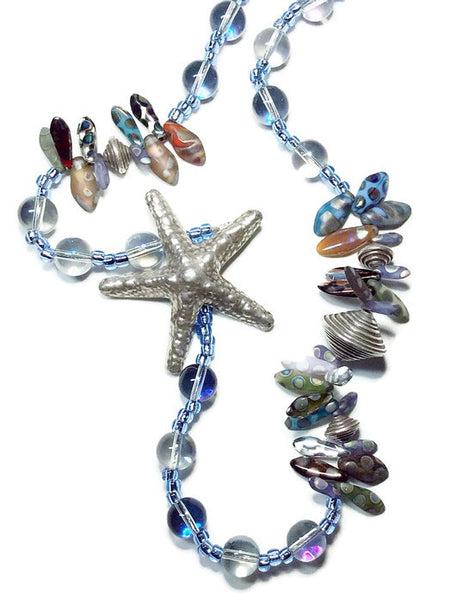 Summer Starfish Necklace - Van Der Muffin's Jewels