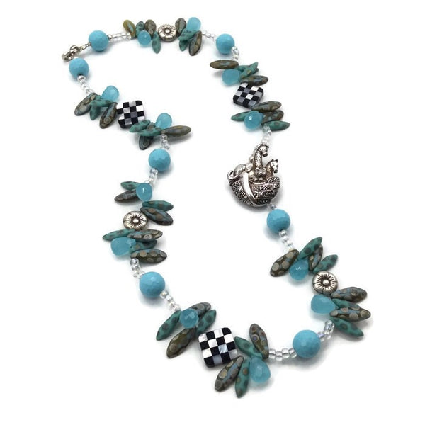 Noah's Ark Statement Necklace ~ Sterling Silver - Van Der Muffin's Jewels