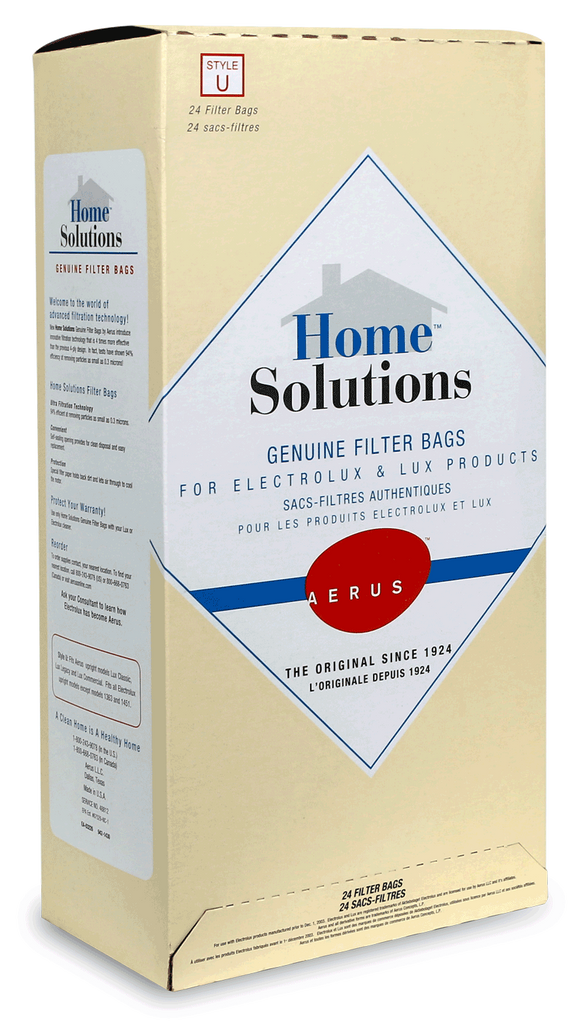 (Style U) Home Solutions™ Genuine Filter Bags