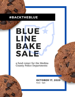 Blue Line Bake Sale