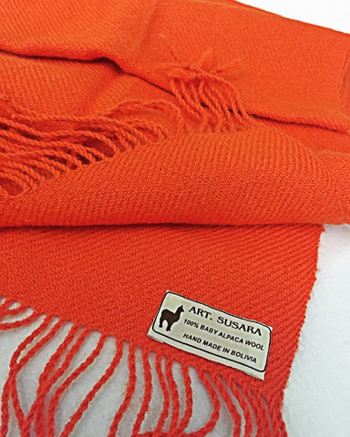 New 100% Pure Alpaca Scarves