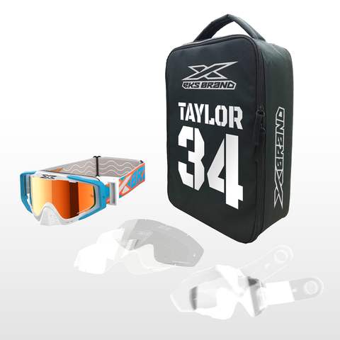 EKS Brand Goggle Race Case Bundle