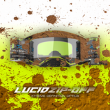 Lucid Goggle Race Pack Flo Yellow, Black - Zip Off