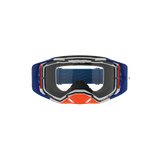 Lucid Goggle Cyan & Flo Orange - Clear Lens