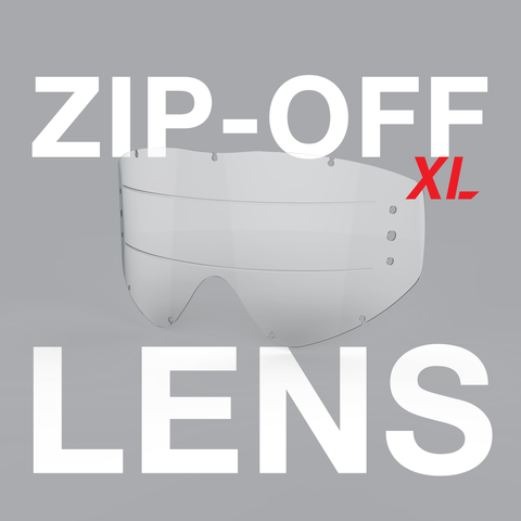 Zip-off XL Lens for EKS-S goggle