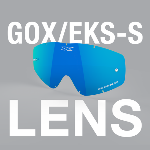 EKS Brand GOX/EKS-S Goggle Replacement Lens