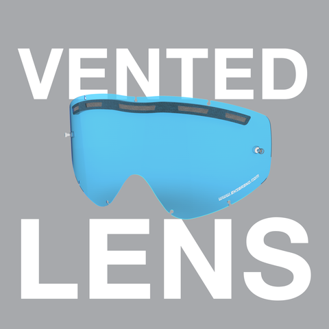 GOX & EKS-S Vented Single-Pane Lens
