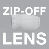 Zip-off Lens for GOX goggle