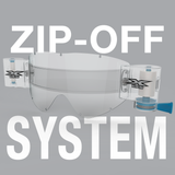 EKS Brand Zip-off System for GOX goggle
