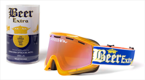 "Cold BEER Goggle Limited Edition ""Cerveza"""