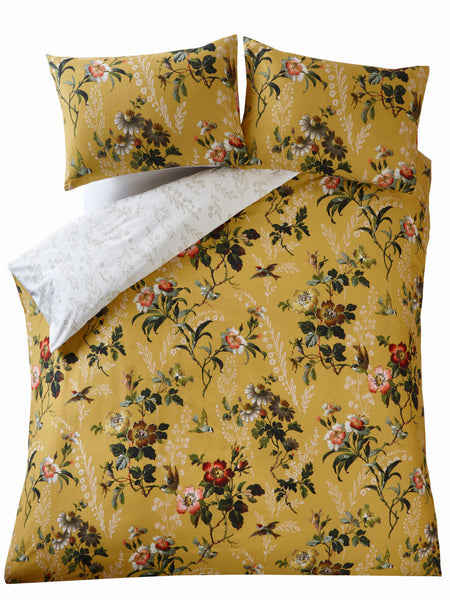 Set Duvet Leighton Ocre