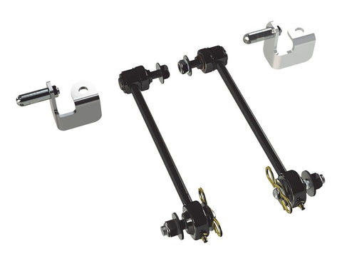 "JK 0""-2.5"" Front Swaybar Quick Disconnect Kit   TTO#1753010"