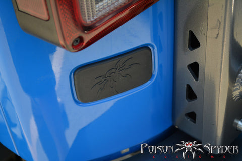 Poison Spyder Jeep JK Rear License Plate Delete Cover