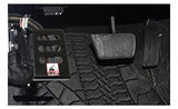 TTO Jeep JKU <br> Dead Pedal 07-18 JKU  <br>Black Powder Coated <br>Left Side Foot Rest