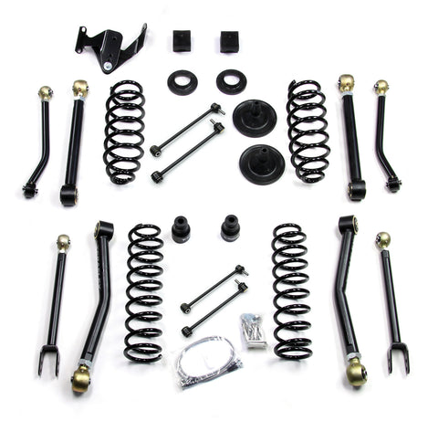 "JK 4 Door 3"" Lift Kit w/ 8 Flexarms"