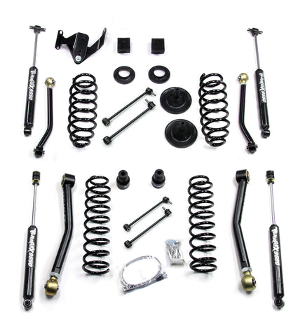 "JK 4 Door 3"" Lift Kit w/ 4 FlexArms & 9550 Shocks"