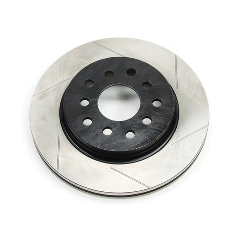 JK Front Big Brake Slotted Rotor - Driver