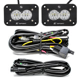 Baja Designs S2 Sport LED - Black Flush Mount