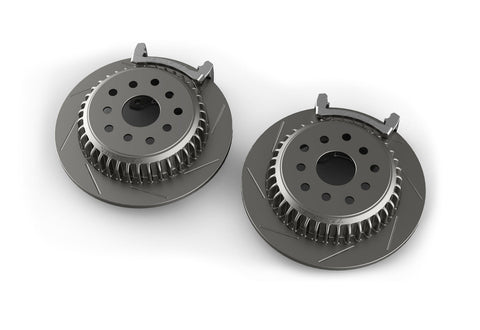 Jeep JK High Performance Big Slotted REAR  Rotor Kit  #4304460