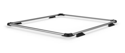 TeraFlex JK Nebo Roof Rack Raised Rail Kit - Silver
