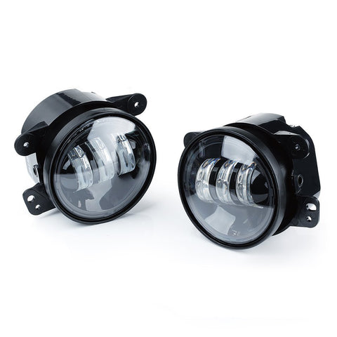 Tech Lite  4 Inch 30w Cree Led Fog Lights Projector Driving Light for 07-16 Jeep JK  - PAIR