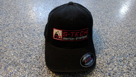 STECH Official Hat <br> Flex Fit <br> BLACK