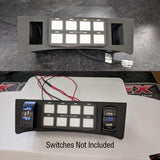 Chevrolet Colorado  <br> Switch Pros Housing  <br>9100 / 8100 Tab / Bezel