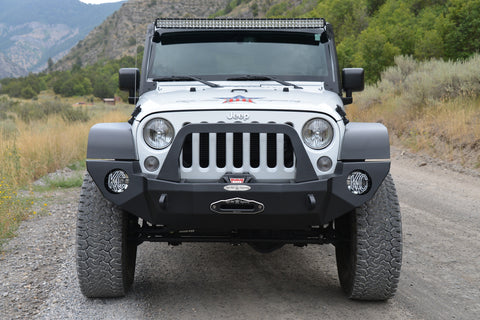 RIGID JK FRONT BUMPER - STEEL