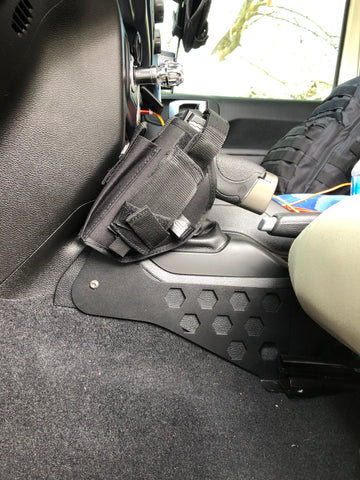 JEEP JL / JT Gladiator Custom Tactical Pistol Mount 22DEG
